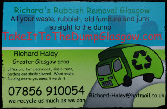 Take it to the dump card